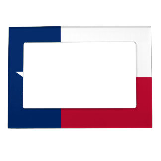 Texas State Flag Magnetic Picture Frame