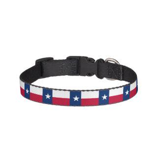 Texas State Flag Pet Collar