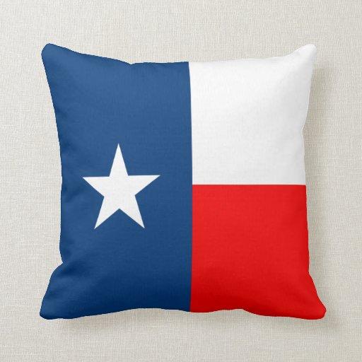 Texas State Flag Pillows