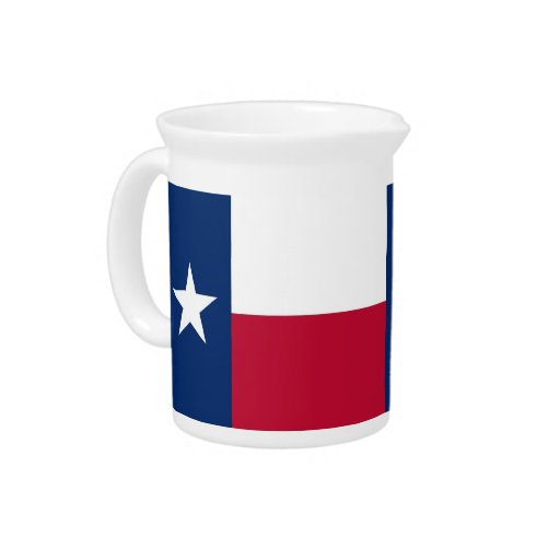 Texas State Flag Pitcher