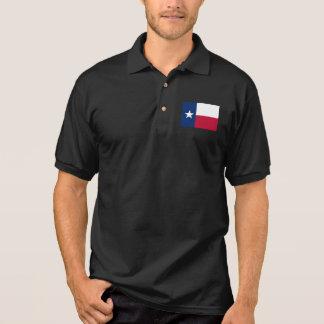 Texas State Flag Polo Shirt