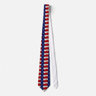 Texas State Flag Pop Art Necktie