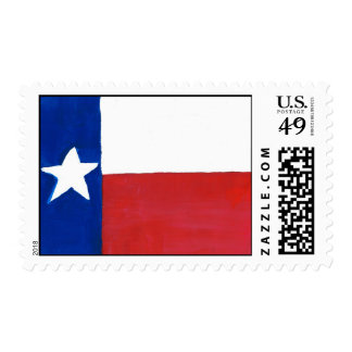 Texas State Flag Postage Stamps