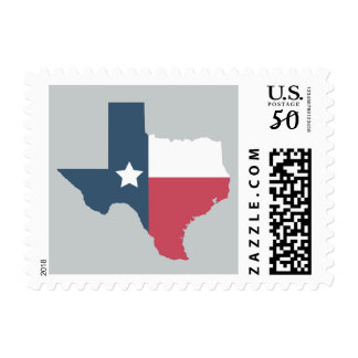 Texas State - Flag Postage Stamps