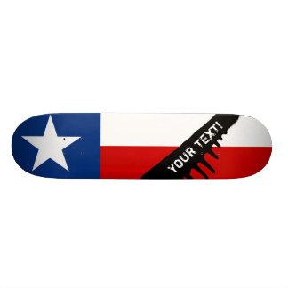 Texas State Flag Skateboard Deck