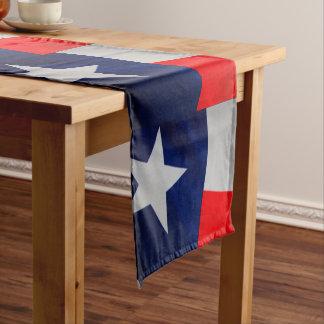Texas State Flag Table Runner