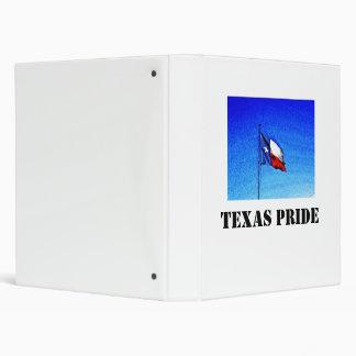 Texas State Flag Texas Pride Binders