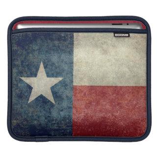 Texas state flag vintage retro iPad Mini Sleeve