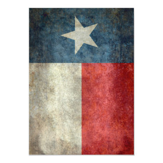 Texas state flag vintage retro style magnet magnetic card