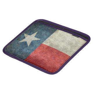 Texas state flag vintage retro style pad sleeve