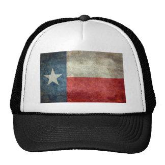 Texas state flag vintage retro style trucker hat