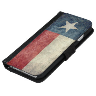 Texas state flag Wallet Case for iPhone & Samsung iPhone 6 Wallet Case