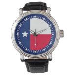 Texas State Flag watch Design