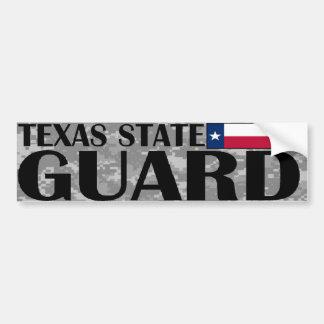 Texas State Guard Bumper Sticker Car Bumper Sticker