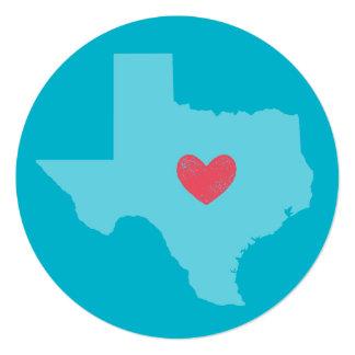 Texas State Heart Card