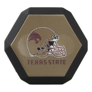 Texas State Helmet Logo Black Bluetooth Speaker