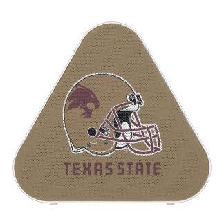 Texas State Helmet Logo Bluetooth Speaker