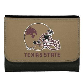 Texas State Helmet Logo Wallet