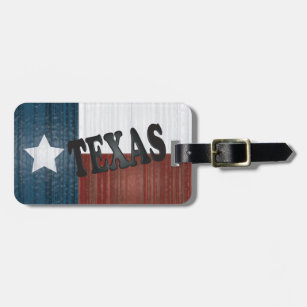 Texas State | Lone Star State Luggage Tag