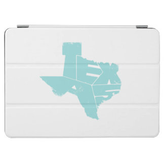 Texas State Map LimpetShell Letters iPad Air Cover