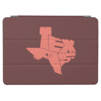 Texas State Map PeachEcho Lettering iPad Air Cover