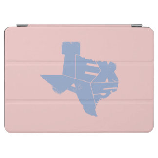 Texas State Map Serenity Lettering iPad Air Cover