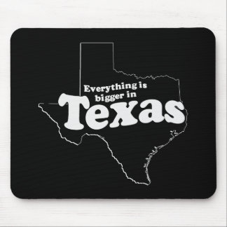 TEXAS STATE MOTTO MOUSE PAD