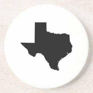 Texas State Outline Drink Coaster