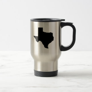 Texas State Outline Travel Mug