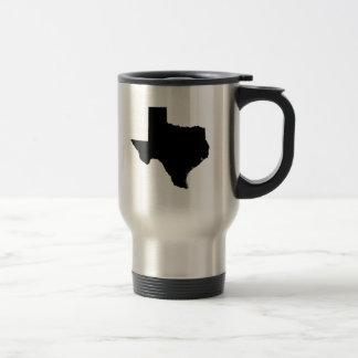 Texas State Outline Travel Mug
