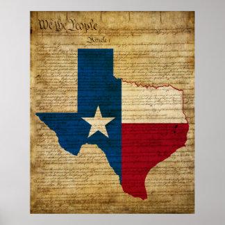Texas State Print