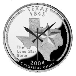 Texas State Quarter Clock