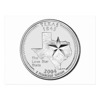 Texas State Quarter Postcard