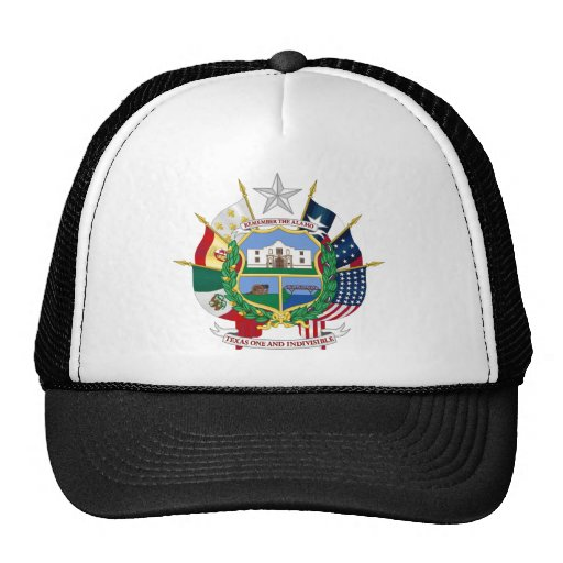 Texas State Seal 2 Trucker Hats