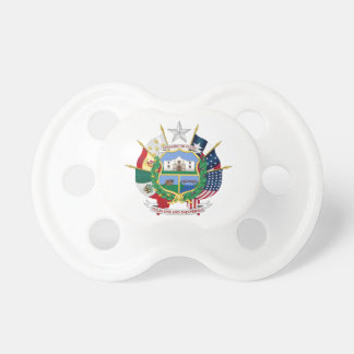 Texas State Seal 2 Baby Pacifiers