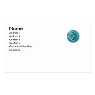 Texas State Seal Double-Sided Standard Business Cards (Pack Of 100)