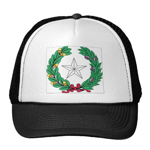 Texas State Seal Mesh Hat
