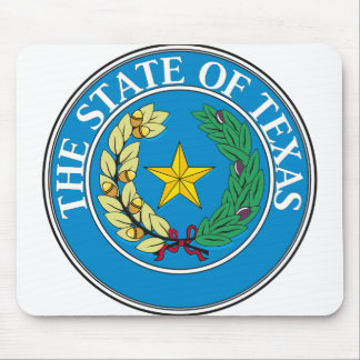 Texas State Seal - Mouse Pad