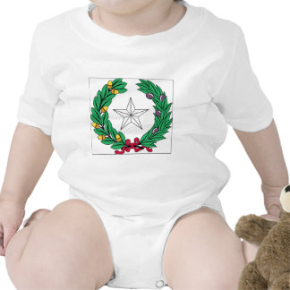 Texas State Seal Baby Bodysuits