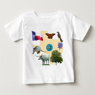Texas State Symbols Baby T-Shirt