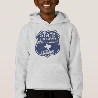 Texas State Trooper To Protect And Serve Hoodie