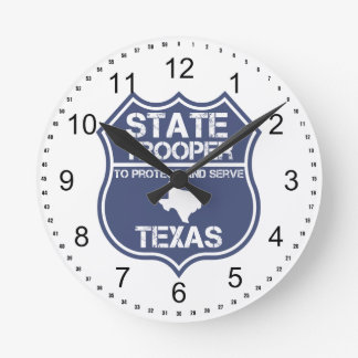 Texas State Trooper To Protect And Serve Round Clock