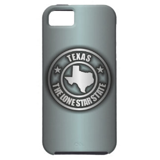 """""""Texas Steel"""" iPhone 5 Cases (Blue-Gray)"""