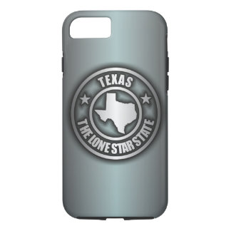 """Texas Steel"" iPhone 7 case (Blue-Gray)"