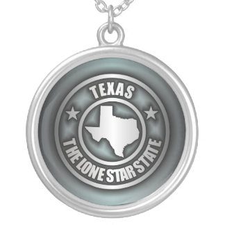 """Texas Steel"" Necklaces (Blue-Gray)"