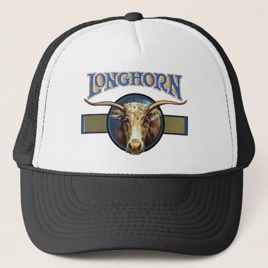Texas Steer Longhorn Trucker Hat