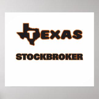Texas Stockbroker Poster