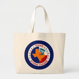 Texas Storm Chaser Canvas Bag