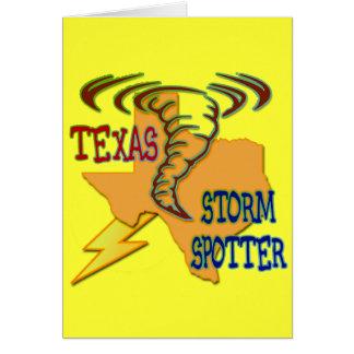 Texas Storm Spotter Card