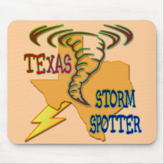 Texas Storm Spotter Mouse Pad